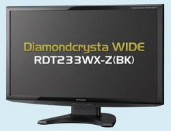 Mitsubishi Diamondcrysta RDT233WX-Z Full HD Monitor