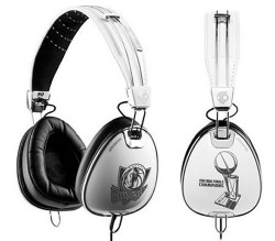 Skullcandy limited edition Dallas Mavericks Aviator headphones