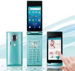 Softbank folding smartphone