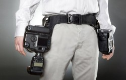 Spider Holsters Let You Carry Multiple Cameras