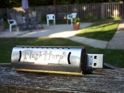 FlasHarp USB Harmonica