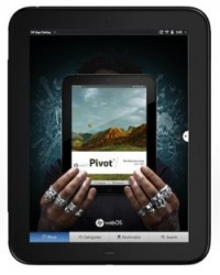 HP announces Pivot for TouchPad