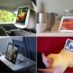 Infinite Loop Tablet/Phone Stand mounts your tablet anywhere, on anything