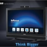 InFocus Mondopad 55-inch multitouch display