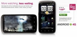 HTC Sensation 4G available at T-Mobile, $150 online