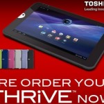 Toshiba Thrive now available for pre-order