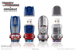 Mimobot Transformers flash drives