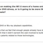 Wii U will not play DVDs or Blu-ray