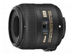 Nikon Micro-NIKKOR 40mm f/2.8G Lens