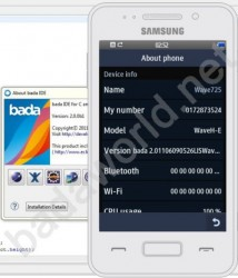 New Samsung Wave 725 with Bada 2.0 leaked