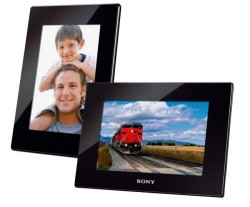 Sony Launches New S-Frame Digital Video Photo Frames