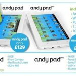 Andy Pad Pro specs and pricing