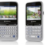 Vodafone 555 Blue Facebook phone unveiled