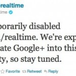 Google temporarily halts Realtime search
