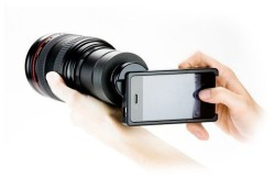 Adapter Lets You Use Any DSLR Lens With Your iPhone