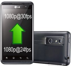LG Optimus 3D records 1080p video at 30fps