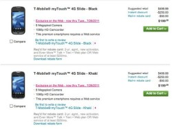 T-Mobile myTouch 4G Slide available for pre-order now