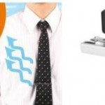Thanko USB-powered necktie clip cooler