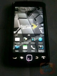 Sprint Branded BlackBerry Torch 9850 Surfaces