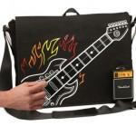 Electronic Rock Guitar Bag Plays Music