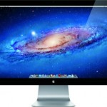 Apple 27-inch Thunderbolt display with FaceTime HD camera and built-in speakers