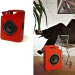 Jerrycan Gas Can speakers