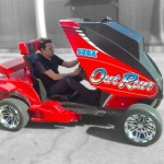 Out Run arcade game lets you game and drive