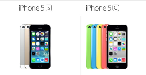 Apple sells nine million iPhone 5s and 5c phones