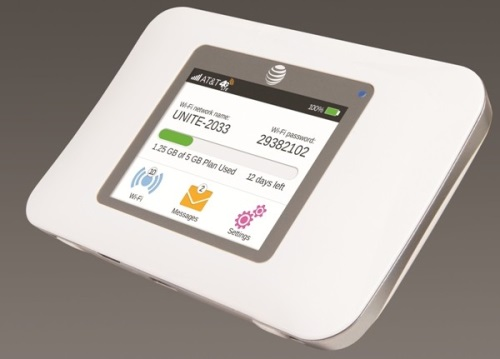 AT&T Unite Pro LTE mobile hotspot
