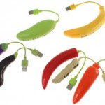 Fruit and Vegetable USB hubs