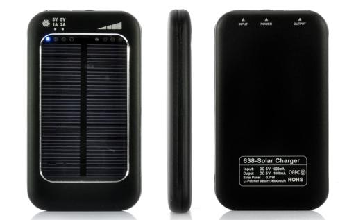 Chinavision Solar Power Bank Charger