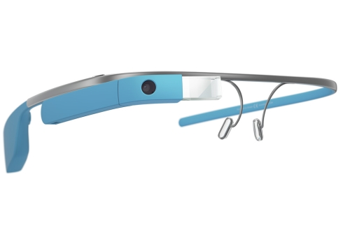 Google Glass Explorer Edition Blue