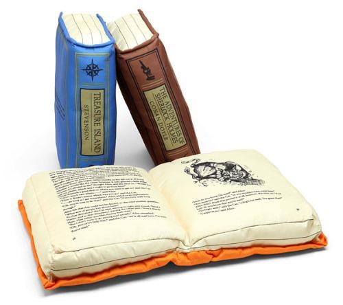 Olde Book PIllows