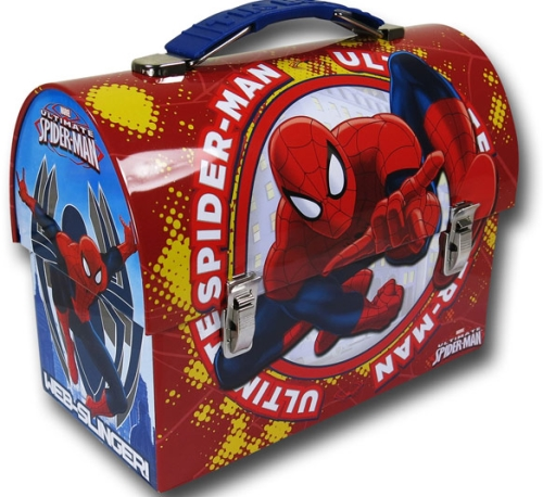 Spider Man Metal Lunch Box