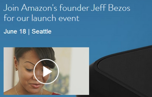 Amazon Mystery Device Launch Event