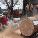 V8 Car Engine-Powered Chainsaw